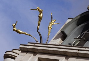 Three Graces in Piccadilly