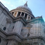 St Pauls Cathedral from the bus