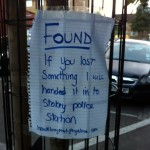 FOUND: Ambiguous Lost and Found Note