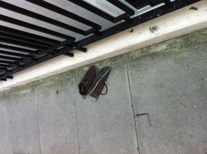 Lost Shoes on Adam Street in London