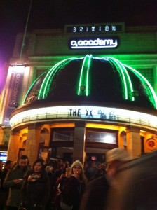 Review: The XX at Brixton Academy 16.12.2012