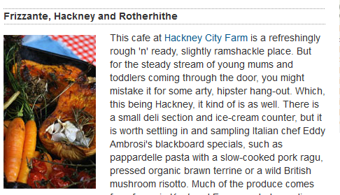 Arty, hipster crowd flocks to a trendy city farm cafe