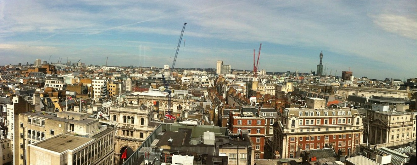 View From The Cavendish Hotel In Mayfair London