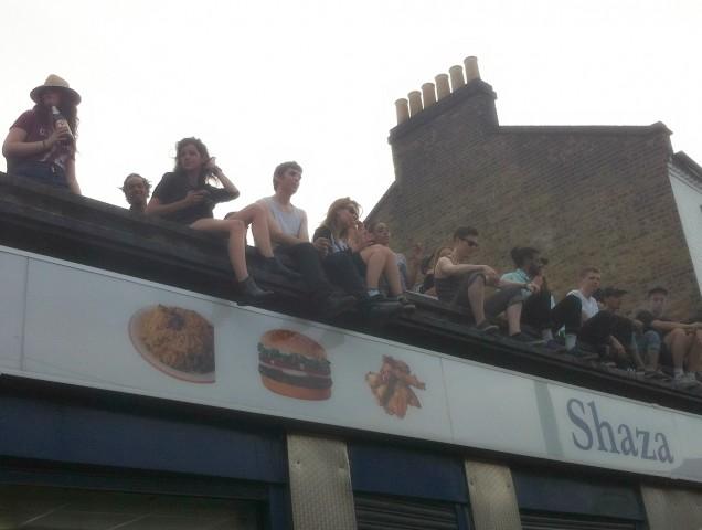 rooftop raving