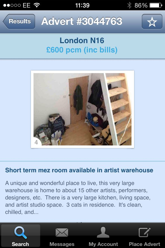 artist warehouse