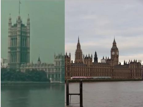 Cool Stuff: London in 1927 vs. London in 2013
