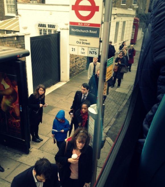 Is This the Most Civilised Bus Stop in London?