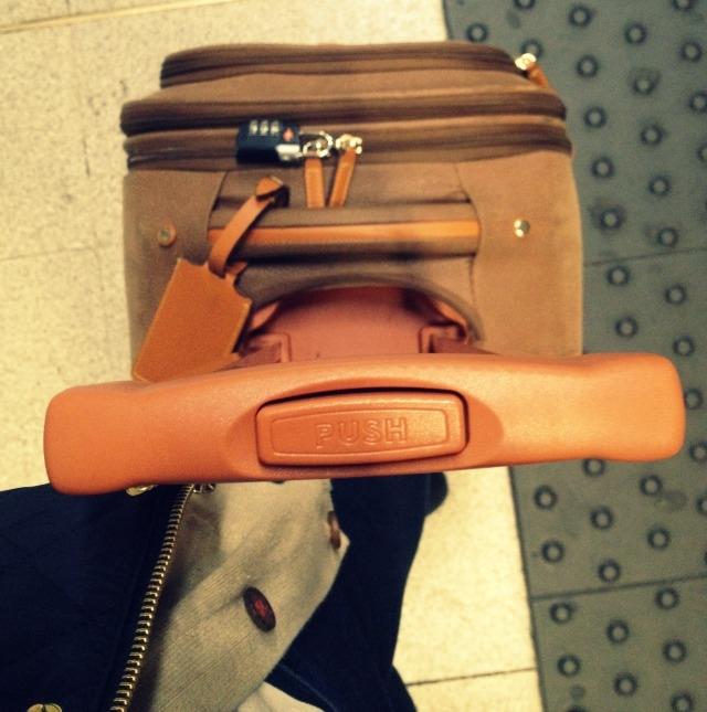 suitcase tube