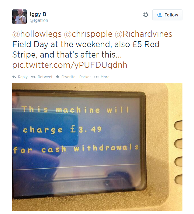 cash machines field day