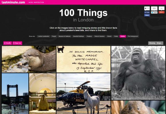 Stuff I Did When I Was At Work: 100 Things in London