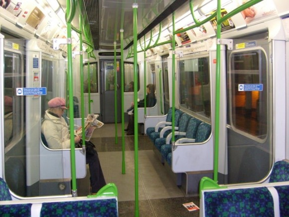 FOUND: Mysterious Note on the District Line
