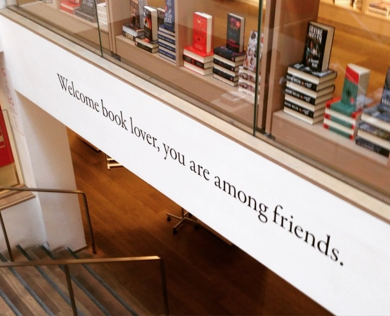 Welcome book lover, you are among friends.
