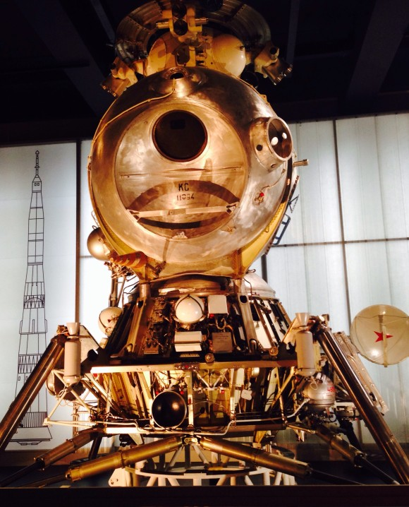 Russian Lunar Lander in the Science Museum
