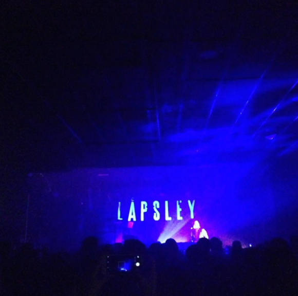 lapsley at the dome