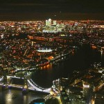 On Thursday I Went to the Top of the Shard for the First Time EVER