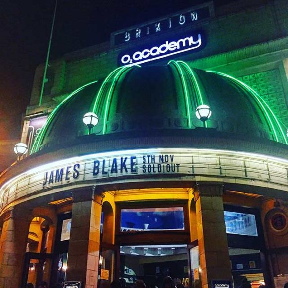 In Praise of James Blake at Brixton Academy (and the bloke who told the crowd to shut up)