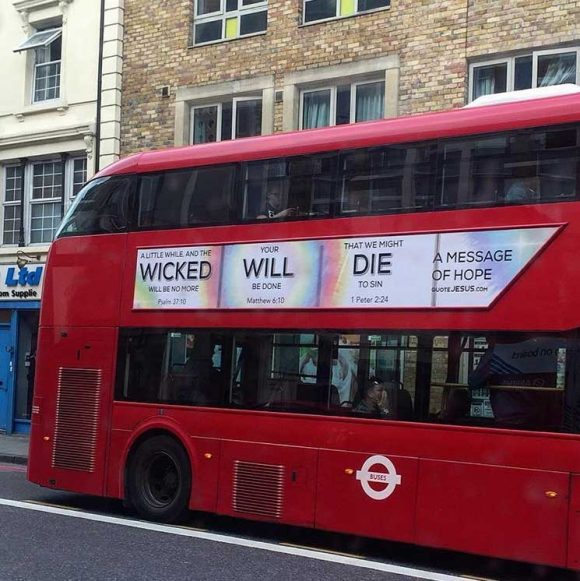 WTF is Going On With This Vaguely Aggressive Bus Ad